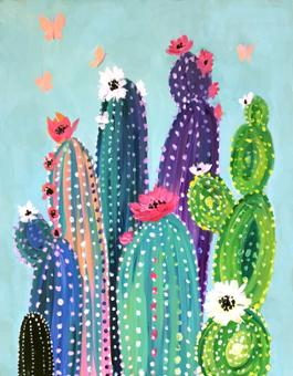 Colourful Cactus