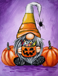 Candycorn Gnome