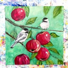 Chickadees and Apples