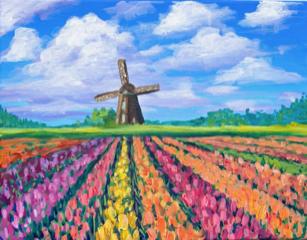 Netherland's Tulip Fields