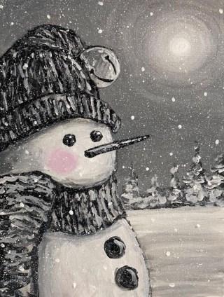 Midnight Snowman