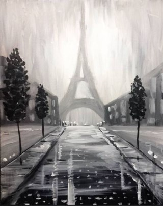 Paris in the Rain