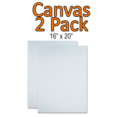 Canvas 2 Pack<br/><small>Delivery within 3 business days</small>