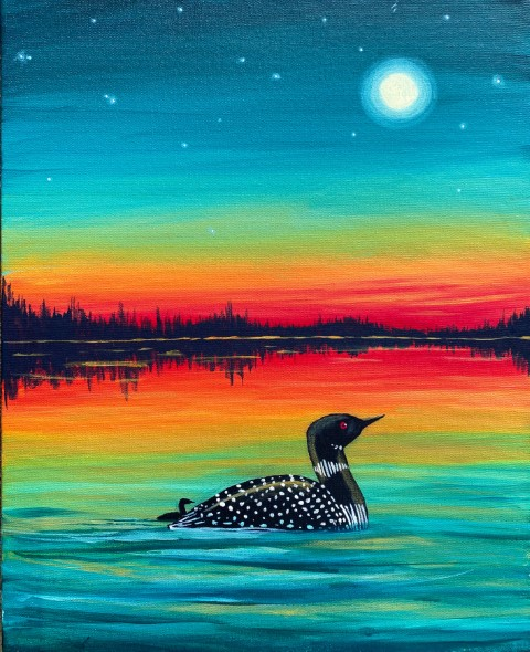 Twilight Loon
